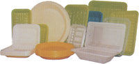пластиковые тарелки лотки ланчбоксы