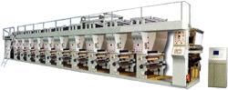 печатная машина непрерывной цветной печати AZJ.