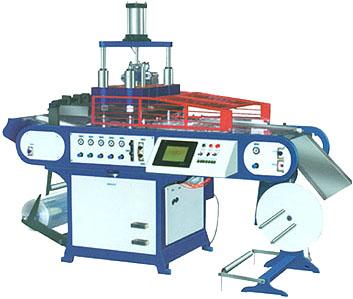 Термоформовочный  автомат для изготовления лотков BOOS-590