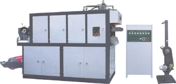 Оборудование для производства пластиковой посуды, стаканов, лотков и контейнеров.