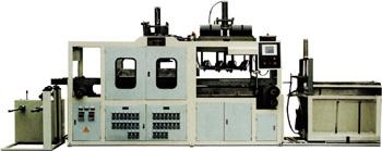 Пневмовакуумформовочный автомат для изготовления коробок для тортов, блистеров, пирожниц, подарков, посуды JDX-550. Нажмите для увеличения