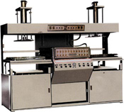 Пневмовакуумформовочный полуавтомат для изготовления блистеров и лотков JDX-600