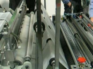 6 ручьевой пакетосварочный автомат JC(SS)3–32 (Тайвань) для производства пакетов фасовка и майка.