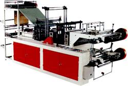 Машины для изготовления полиэтиленовых пакетов.