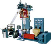 Экструдер SJHL для производства рукавных однослойных полиэтиленовых плёнок из ПЭВД, ПЭНД. Нажмите для просмотра.