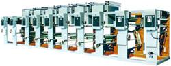 машина двусторонней глубокой печати многоцветных изображений