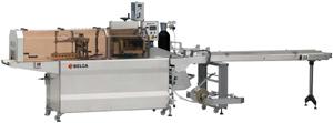 Горизонтальная упаковочная машина для упаковки продуктов в термоусадку с заполнением газом SG-300