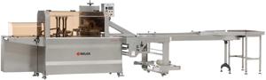 Горизонтальная упаковочная машина для упаковки продуктов в термоусадку SP-100H