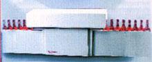 Тоннельный аппарат с конвейерным транспортером для усадки термоусадочных колпачков ТК-6000