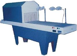Проходной тоннельный аппарат с транспортером для упаковки в термоусадочную плёнку-рулон длинномерных изделий ТПЦ-550Д